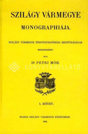 Kép: Szilágy vármegye monographiája I.