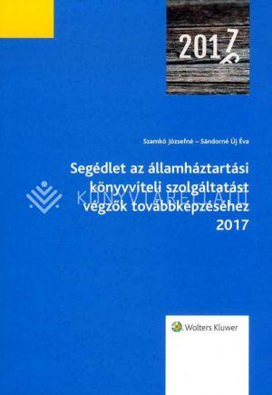 Kép: Segédlet az államháztartási könyvviteli szolgáltatást végzők továbbképzéséhez 2017