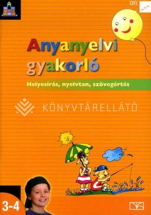 Kép: Anyanyelvi gyakorló 3-4.