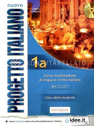 Kép: Nuovo Progetto italiano 1a – Libro dello studente con CD audio (livello A1 del Quadro Comune Europeo di Riferimento per le Lingue)