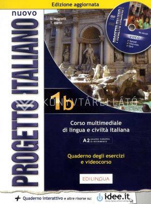 Kép: Nuovo Progetto italiano 1b – Quaderno degli esercizi e delle attivita video (livello A1 del Quadro Comune Europeo di Riferimento per le Lingue)
