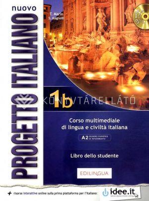 Kép: Nuovo Progetto italiano 1b – Libro dello studente con CD audio (livello A1 del Quadro Comune Europeo di Riferimento per le Lingue)