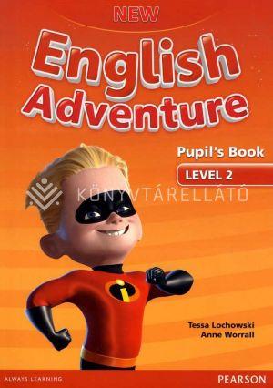 Kép: New English Adventure LEVEL 2 Pupils Materials