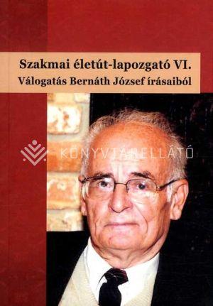 Kép: Szakmai életút-lapozgató VI - Válogatás Bernáth József írásaiból