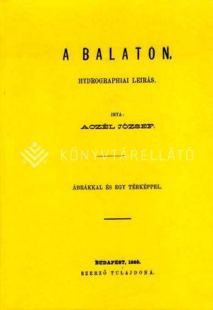 Kép: A Balaton, hydrographiai leírás