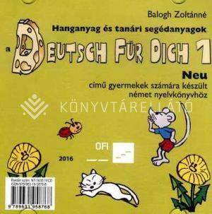 Kép: Hanganyag és tanári segédanyagok a Deutsch für Dich 1 Neu című gyermekek számára készült német nyelvkönyvhöz