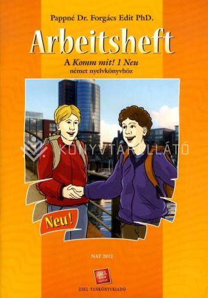 Kép: Arbeitsheft A Komm Mit!1 Neu Német Nyelvkönyvhöz