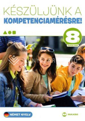 Kép: Készüljünk a kompetenciamérésre! Német nyelv 8. évfolyam