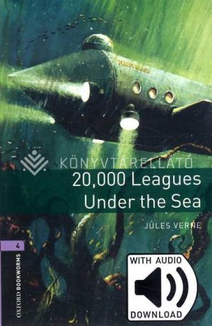 Kép: 20000 Leagues Under The Sea (Obw Library Level 4) Mp3 Pack