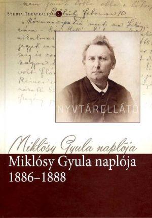 Kép: Miklósy Gyula naplója 1886–1888