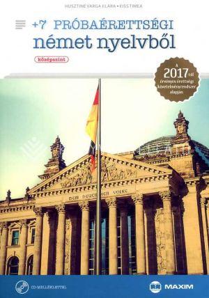 Kép: +7 próbaérettségi német nyelvből (középszint) CD-vel