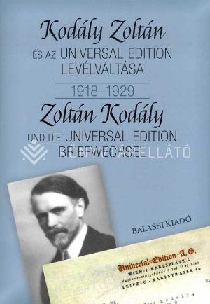 Kép: Kodály Zoltán és az Universal Edition levélváltása I. 1918-1929