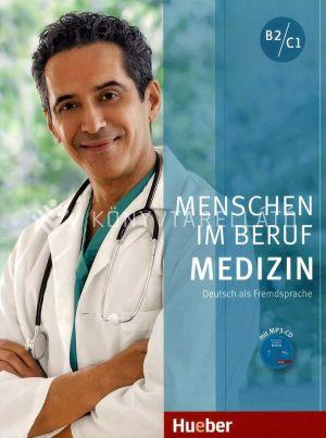 Kép: Menschen Im Beruf -Medizin Kursbuch Mit Mp3 (B2-C1)