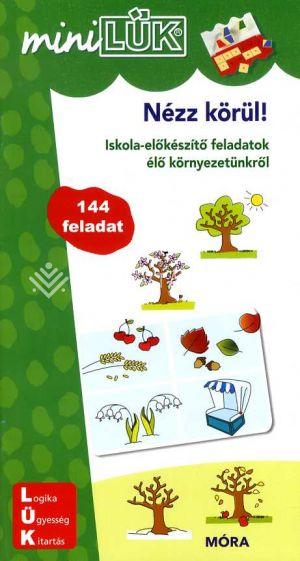Kép: Nézz körül! - miniLÜK - Iskolaelőkészítő feladatok LDI247