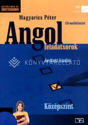 Kép: Angol feladatsorok Középszint CD melléklettel. Átdolgozott, bővített kiadás
