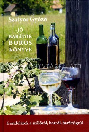 Kép: Jó barátok boros könyve
