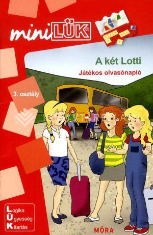 Kép: A két Lotti – Játékos olvasónapló - miniLÜK (3. osztály)