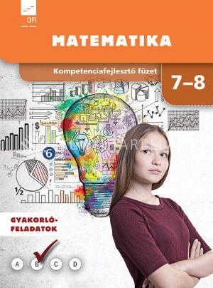 Kép: Kompetenciafejlesztő füzet Matematika 7-8. évfolyam