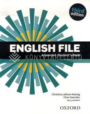 Kép: English File Third edition Advanced Students Book