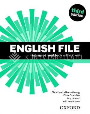 Kép: English File Third edition Advanced Workbook
