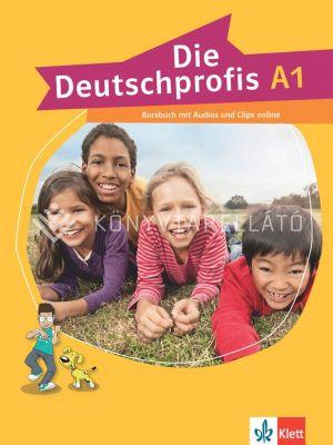 Kép: Die Deutschprofis A1 Kursbuch mit Audios und Clips online