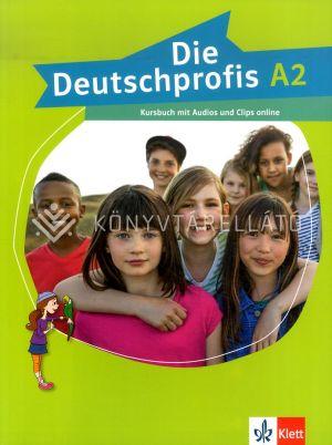 Kép: Die Deutschprofis A2 Kursbuch mit Audios und Clips online