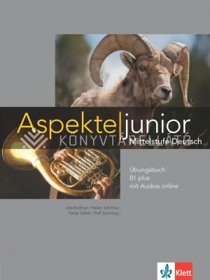 Kép: Aspekte junior Übungsbuch B1 plus mit Audios online