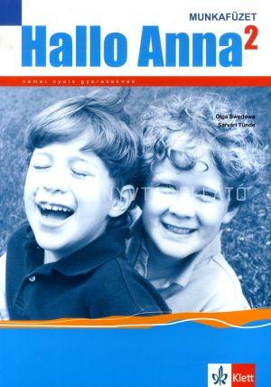 Kép: Hallo Anna Munkafüzet 2. online audiomelléklettel