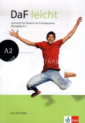 Kép: DaF leicht Übungsbuch 2. + DVD-ROM melléklet