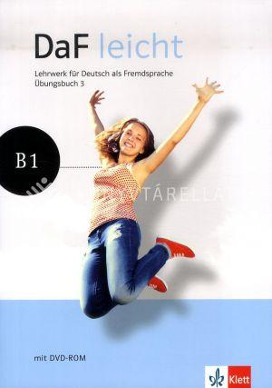 Kép: DaF leicht Übungsbuch 3. + DVD_ROM melléklet