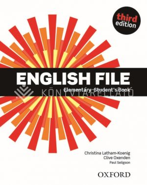 Kép: English File Third edition Elementary Students Book