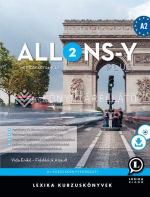 Kép: Allons-y PLUS 2 Méthode de français – Francia kurzuskönyv (A2)