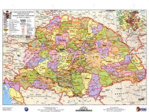Kép: A magyar szent korona országai térképe..
