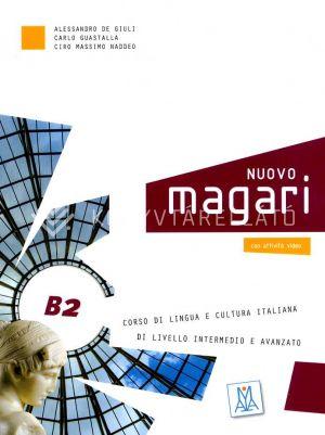 Kép: Nuovo Magari B2 - Corso di lingua e cultura italiana + CD audio