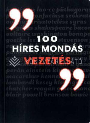 Kép: 100 híres mondás Vezetés