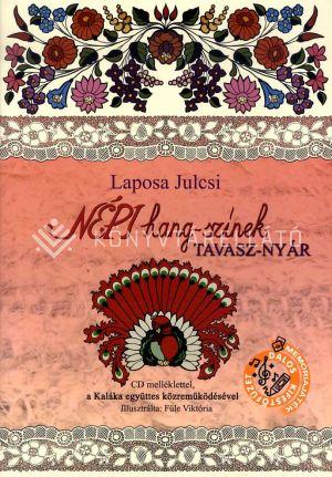 Kép: NÉPI hang-színek TAVASZ-NYÁR (CD-melléklettel)