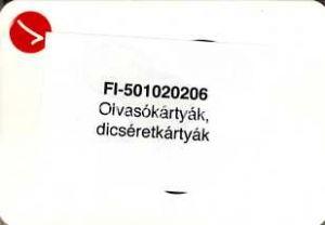 Kép: (Ábécés) olvasókönyv 1-2. tartós melléklet 1. Olvasókártyák, dícséretkártyák