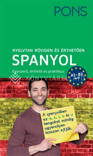 Kép: PONS Nyelvtan röviden és érthetően – Spanyol