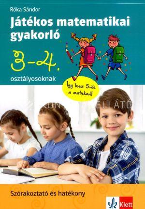 Kép: Játékos matematikai gyakorló 3. és 4. osztályosoknak