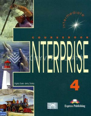 Kép: ENTERPRISE 4 Coursebook Intermediate