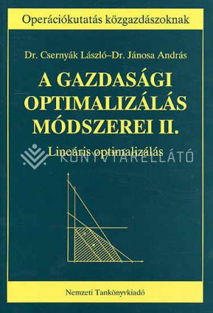 Kép: A gazdasági optimalizálás…II.