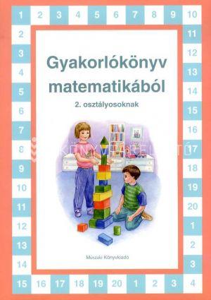 Kép: Gyakorlókönyv matematikából 2. osztályosoknak