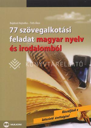 Kép: 77 szövegalkotási feladat magyar nyelv és irodalomból