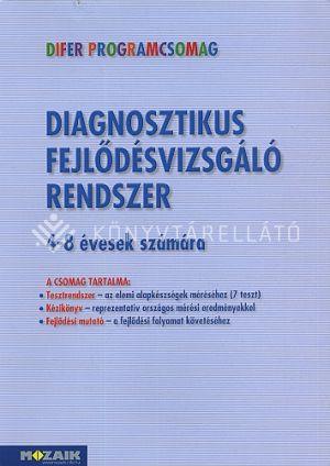 Kép: DIFER - Diagnosztikus fejlődésvizsgáló rendszer. Tesztrendszer, Kézikönyv, fejlődési mutató 0-2. évfolyam