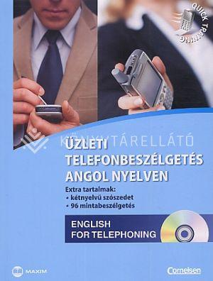Kép: Üzleti telefon beszélgetés angol nyelven