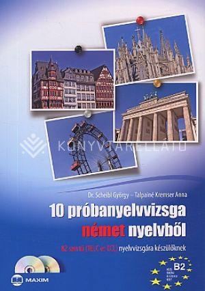 Kép: 10 próbanyelvvizsga német nyelvből (B2 CD-vel)