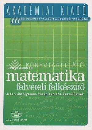 Kép: Matematika felvételi felk. 4 és 5
