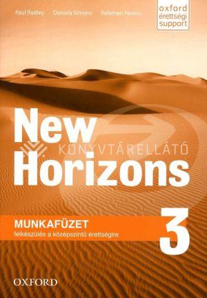 Kép: New Horizons 3 Munkafüzet