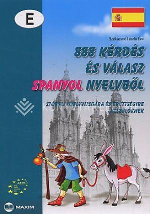 Kép: 888 kérdés és válasz spanyol nyelvből