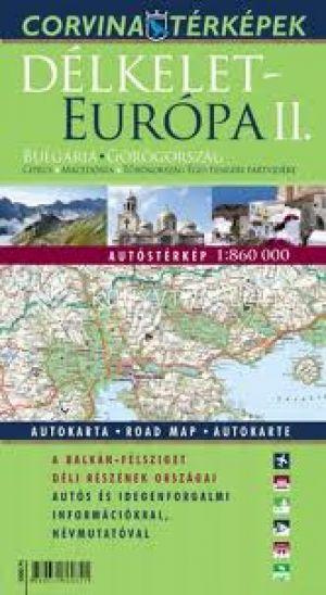 Kép: Délkelet-Európa II. autóstérkép